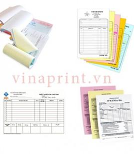 Quy trình đặt in hóa đơn bán lẻ tại Vinaprint